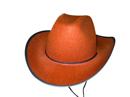 Chapeau de cowboy marron
