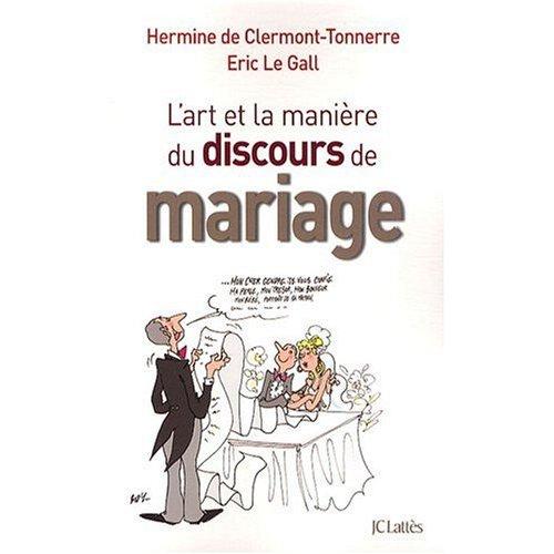 L'art et la manière du discours de mariage