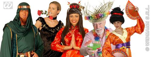 Costumes sur le thème des pays