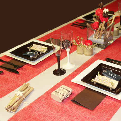 Décoration de table japonaise