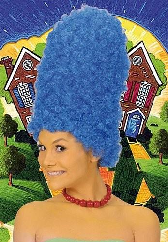 Perruque de Marge Simpson