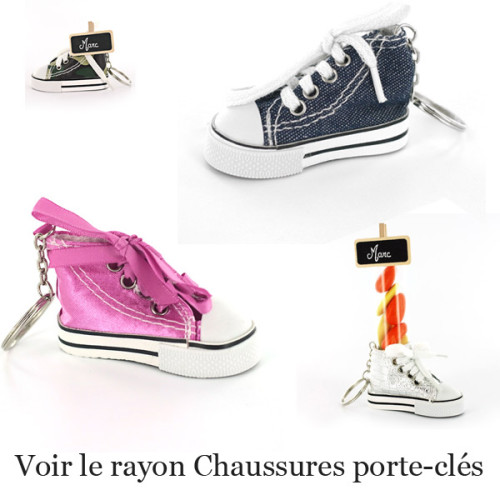 Rayon chaussures porte-clés