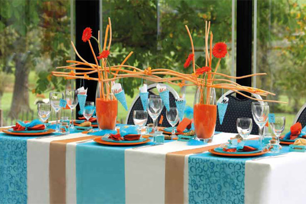 c 39 est le printemps vive la d coration de table d corations f tes. Black Bedroom Furniture Sets. Home Design Ideas