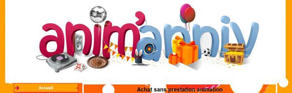 Animation d'anniversaires et de fêtes