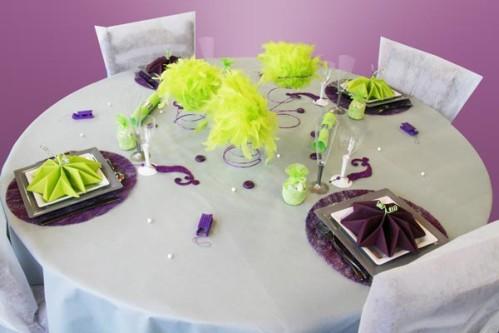 Décoration de table de fête