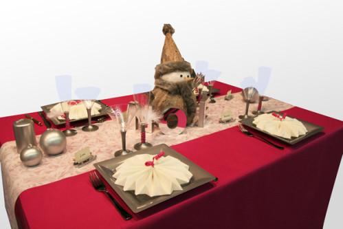 Decoration De Table Noel Rouge Et Blanc Decorations Fetes