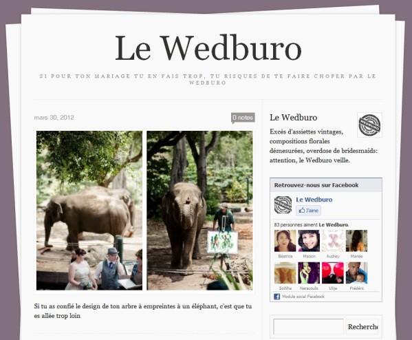 Un blog à voir : Le Wedburo