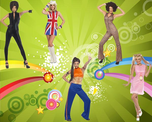 Déguisements officiels de Spice Girls