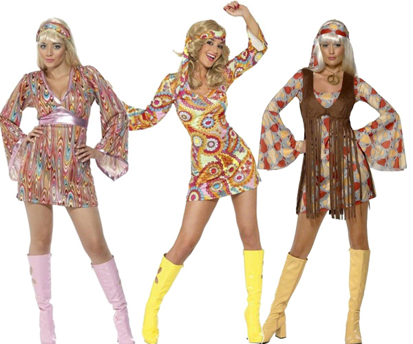 Disco, hippie, années 80 - femme