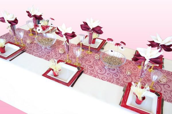 Decoration De Table Noces D Or Decorations Fetes