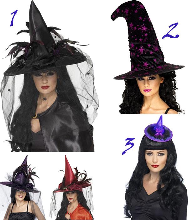 Chapeaux de sorcières