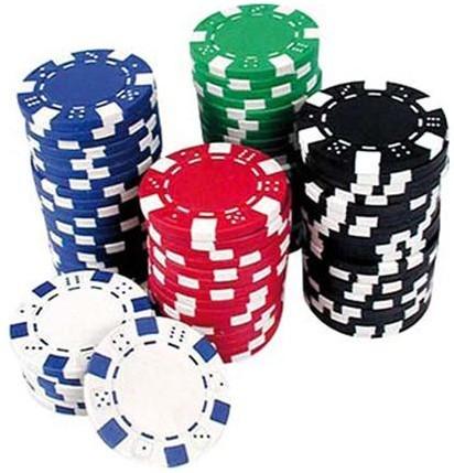 Boîte de 100 jetons de Poker