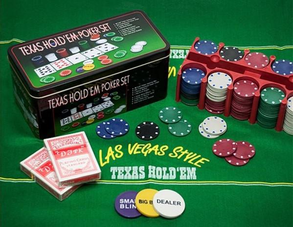 Kit de poker luxe