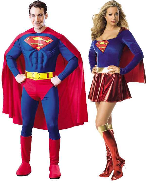 Superman et Superwoman