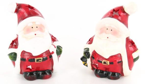 Lanterne photophore Père Noël, modèles assortis