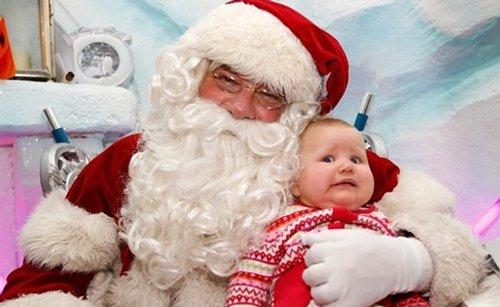 Les pires photos du Père Noël !