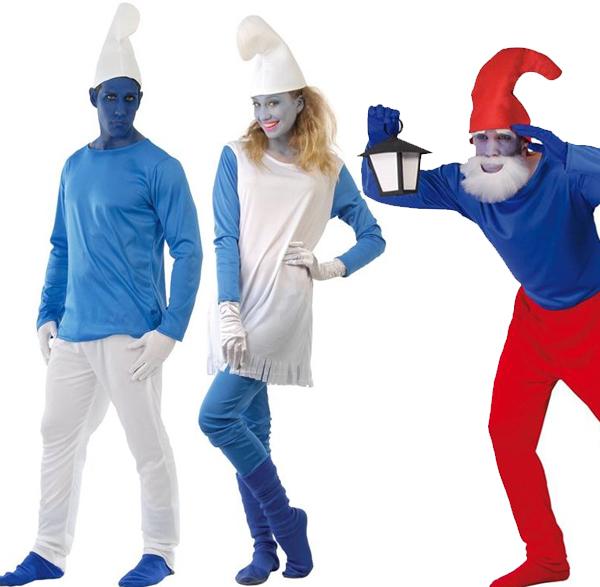 Nos déguisements des Schtroumpfs