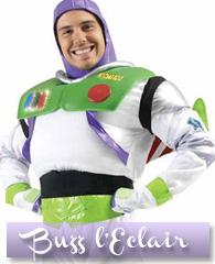 Déguisement de Buzz l'éclair