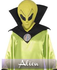 Déguisements et accessoires Alien