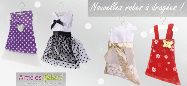 Nouvelles robes à dragées
