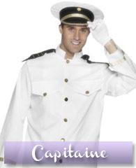 Déguisement de capitaine