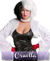 Déguisement de Cruella