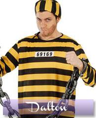 Déguisement Dalton - prisonnier