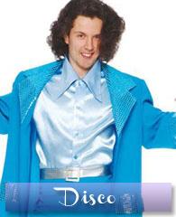 Disco, hippie, années 80 - homme