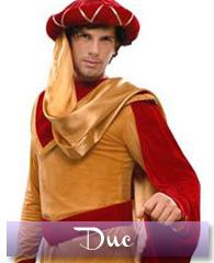 Déguisement de duc du Moyen âge