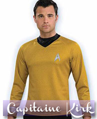 Sweat Capitaine Kirk™ doré, Star Trek™