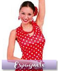 Déguisement danseuse flamenco