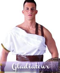 Déguisement de gladiateur spartiate