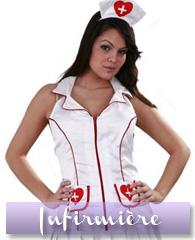 Déguisements et accessoires d'infirmière