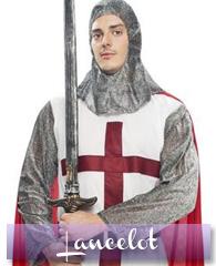Déguisements et accessoires de chevalier Lancelot