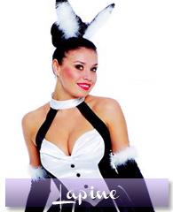 Déguisement de lapine sexy, taille M