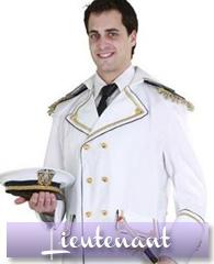 Déguisement de général ou lieutenant de la marine