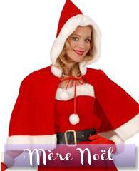 Déguisements et accessoires de Mère Noël