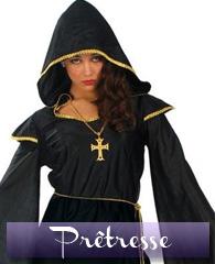 Déguisement de prêtresse