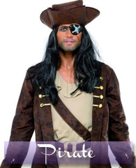 Déguisements de Pirate, indien, cow-boy pour les hommes