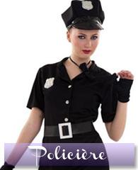 Déguisement de policière