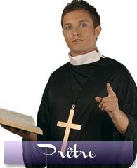 Déguisement de prêtre ou de curé