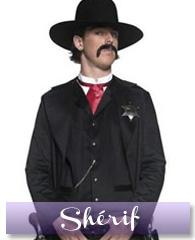 Déguisement de shérif de western