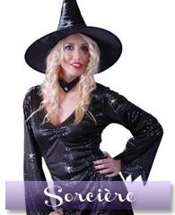 Déguisement de sorcière glamour