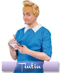 Déguisement et perruque de Tintin
