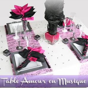 Sommaire des Idées de décorations de tables - Décorations Fêtes