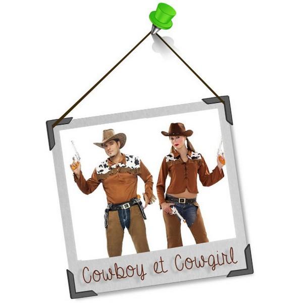 Se déguiser en duo : cowboy et cowgirl