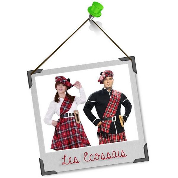 Se déguiser en duo : les écossais