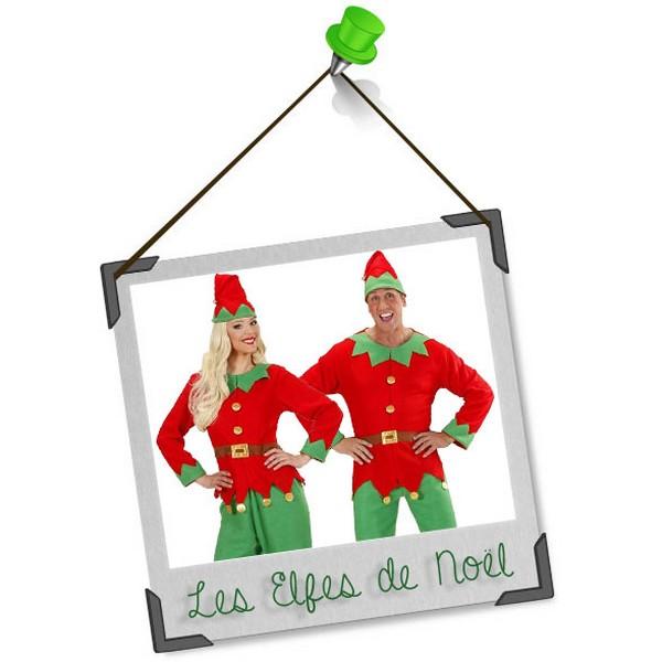 Se déguiser en duo : les elfes de noël