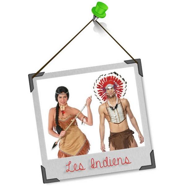 Se déguiser en duo : les indiens