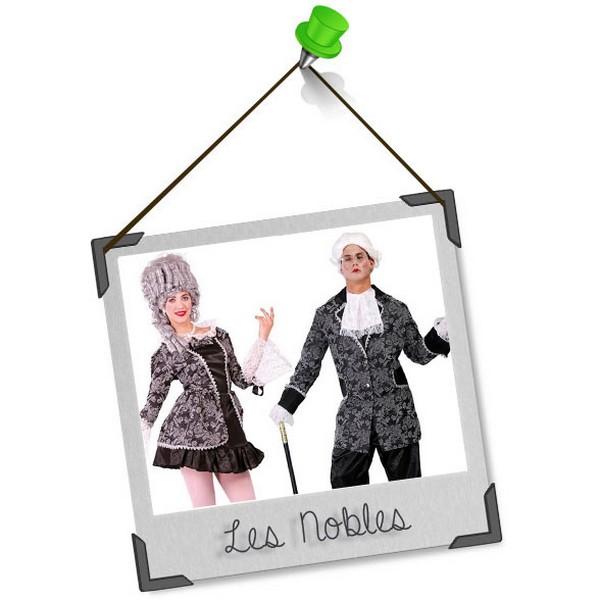 Se déguiser en duo : les nobles